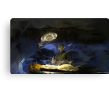 Yewll Trys to Take Out The Keys Canvas Print