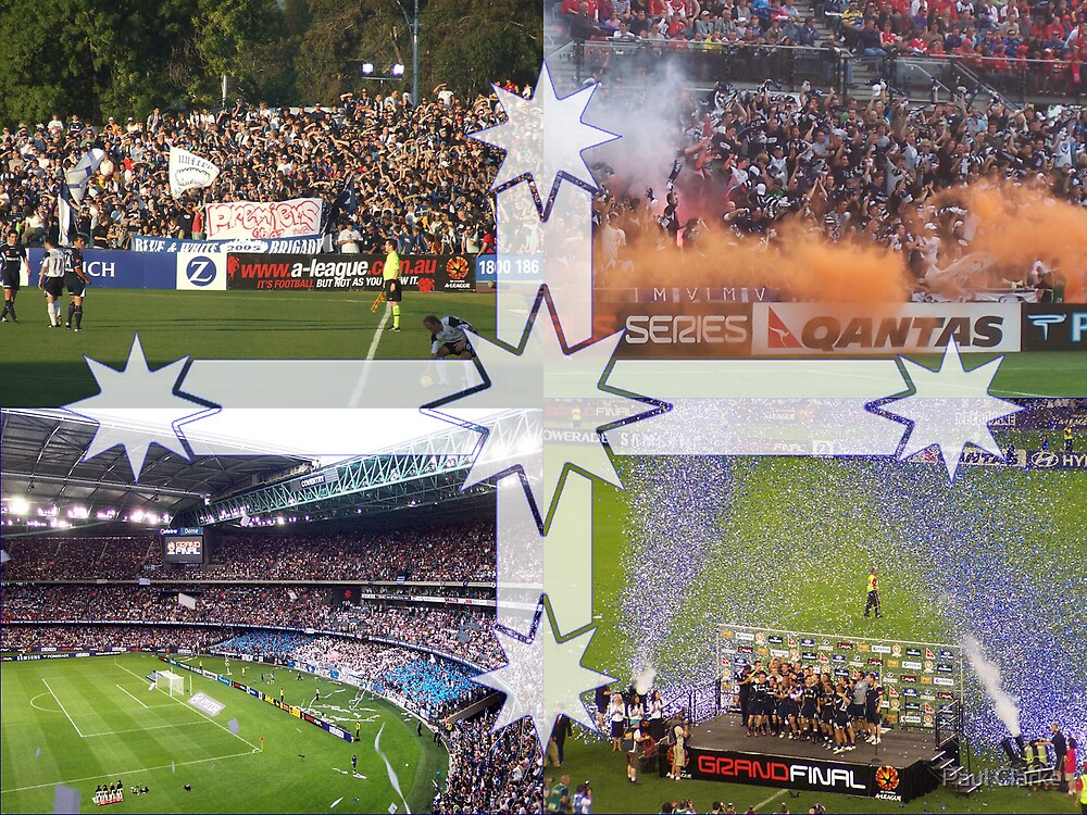 Melbourne Victory 2006/2007 by Paul Clarke