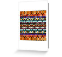 Summer dream - Voronoi Greeting Card