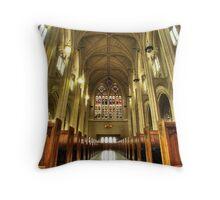 St. Pauls Cathedral, Dunedin, New Zealand Throw Pillow