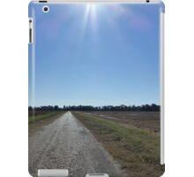 Boring Road With A Sunburst iPad Case/Skin