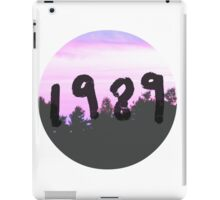 1989 (Nature) iPad Case/Skin