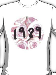 1989 (Floral) T-Shirt