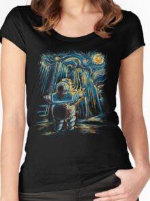 Van Goghstbusters Women's Fitted Scoop T-Shirt