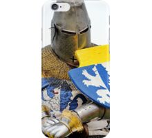Knight in Chainmail  iPhone Case/Skin