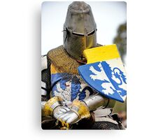 Knight in Chainmail  Canvas Print