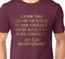 Cabin in the Woods Speakerphone Unisex T-Shirt