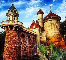 Walt Disney World Magic Kingdom Little Mermaid Under The Sea Ariel Castle by BrandonBalasco