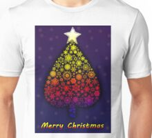 Colored Christmas tree Unisex T-Shirt