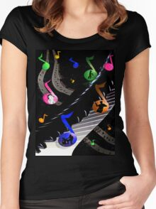 Universal Music Women's Fitted Scoop T-Shirt