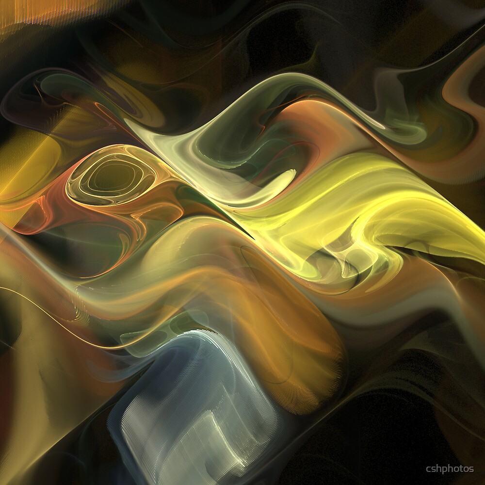 Fractal Wave II by cshphotos