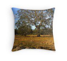 Woodlands Historic Park Throw Pillow
