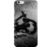 Frozen lake with a chain iPhone Case/Skin