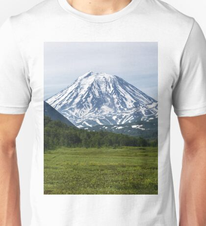 Volcanoes of Kamchatka Peninsula - Koryaksky Volcano, Arik and Aag Volcano Unisex T-Shirt