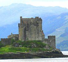 Famous Eileen Donan Castle by John  Simmons