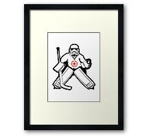 Imperial Goalie Framed Print
