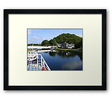 Loch Ness Canal Framed Print
