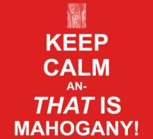 Calming Mahogany-White by Sireeky