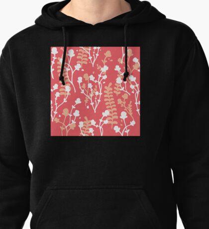 Flower Pattern (Warm) Pullover Hoodie