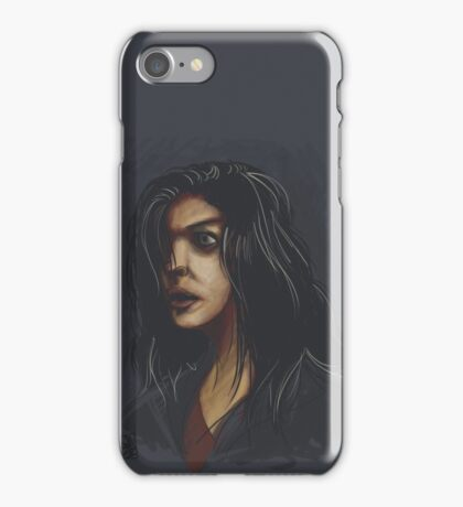 Gwen Cooper: Long Day at the Office iPhone Case/Skin