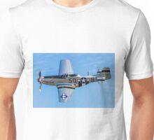 """P-51D Mustang 44-13521/5Q-B G-MRLL """"Marinell"""" Unisex T-Shirt"""