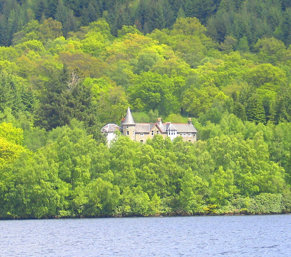 Simple home on a Loch by John  Simmons