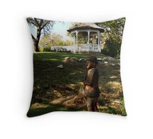 Emmett at Home Throw Pillow