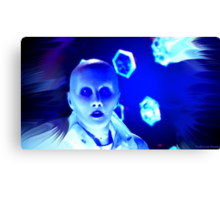 Yewll in The Terasphere Blue Canvas Print