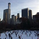 Wollman Rink, 432 Park Avenue Skyscraper, Central Park South, New York City by lenspiro