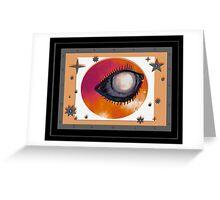 Eye of the Sun Greeting Card