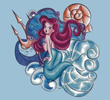 The Mermaid Princess Kids Clothes