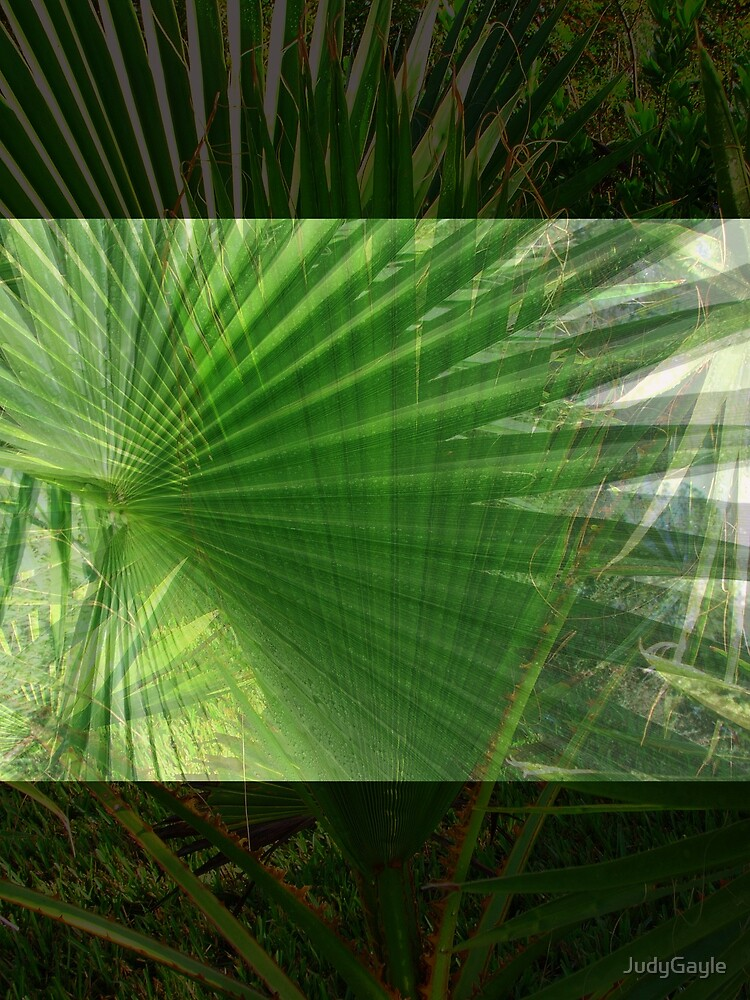 Collage of Palms by Judy Gayle Waller