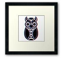 Stereoscopic Sugar Bird Framed Print