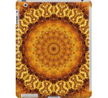 Floral Ring of Autumn Gold iPad Case/Skin