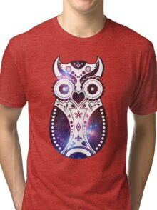 Galactic Sugar Bird Tri-blend T-Shirt