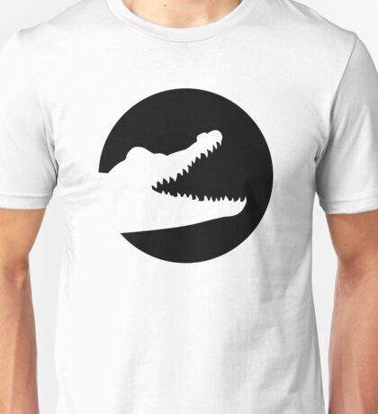 Crocodile moon Unisex T-Shirt