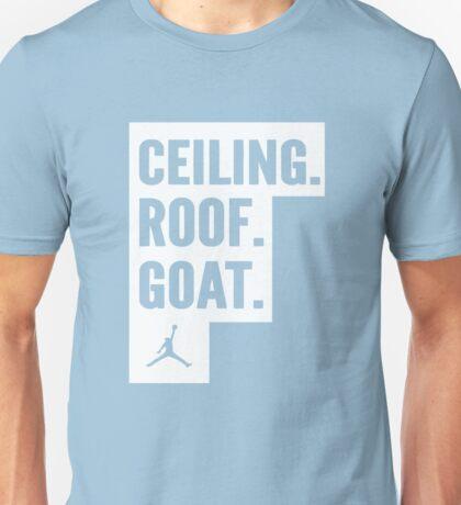 Ceiling Roof Goat Shirt Unisex T-Shirt