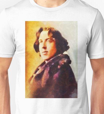 Oscar Wilde, Literary Legend Unisex T-Shirt