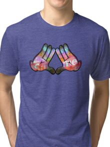 Swag hand Tri-blend T-Shirt