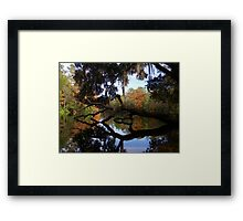 Fall River Reflections 2 Framed Print