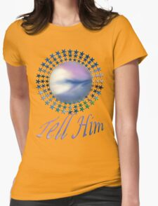 Tell Him- abstract-art+Product Design T-Shirt