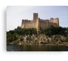 Rock Castle Canvas Print