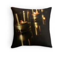 double fire Throw Pillow