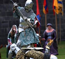 Knight in Battle - Royalty in Attendance by Stuart Blythe
