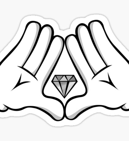 Swag Hand Sticker