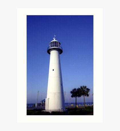 Biloxi Mississippi Lighthouse Art Print