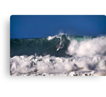 Andy Irons At 2009 Quiksilver in Memory of Eddie Aikau Contest 3 Canvas Print