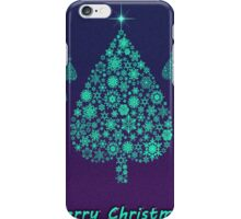Marry Christmas tree iPhone Case/Skin
