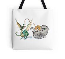 Attack of the Dragon Tote Bag