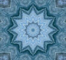 Blue Crystal Star Sticker